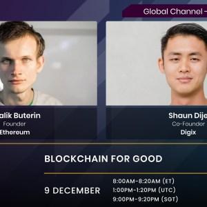 Vitalik Buterin: Blockchain for Good | BlockShow x SFF