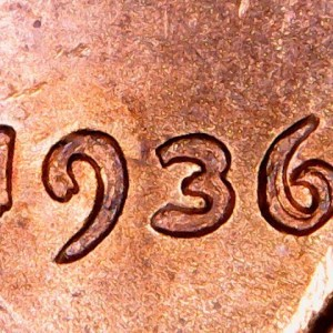 1936 A Year in Review Searching for a $45,000.00 Lincoln cent