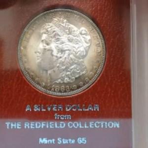 LARGE Redfield Morgan Dollar & Peace Purchase - Morgan Bag Open Reveal