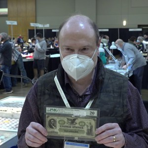 CoinTelevision: Rare Civil War Era Bank Note Issued by Lincoln Available at Houston Money Show 2021.