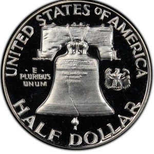 $25,850.00 Franklin Half Dollar in this 1956 A Year in Review