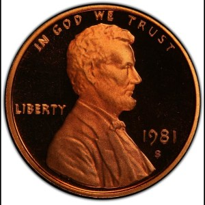 $5,995.00 Jefferson Nickel in This 1981 A Year in Review