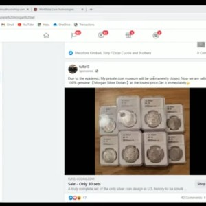 The Morgan Dollars You Get From Fraudulent Facebook Ads