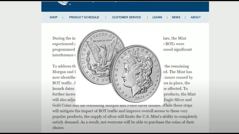 Breaking News! 2021 Morgan US Mint BOT Issues Again! Changed Released Dates & Household Limits