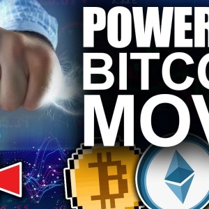 Crypto News: Powerful Bitcoin Move To The Upside (Top Key Bullish Indicator)