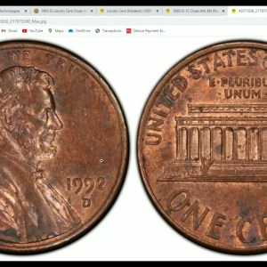 Why Did 1992 D Penny Sell For $1,293 ? Can You Find One Yourself?