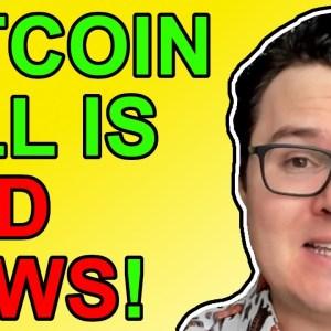 Bitcoin Bad News At Critical Moment!