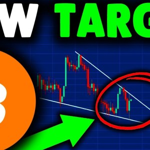 NEW BITCOIN PRICE TARGET REVEALED (breakout)!!! BITCOIN PREDICTION & BITCOIN NEWS TODAY AFTER CRASH!
