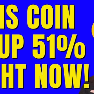 🔥 THIS COIN IS UP 51% RIGHT NOW! 🔥 YOU GOTTA SEE THIS ONE TO BELIEVE IT! 🔥