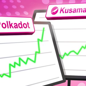 kusama ksm polkadot dot surge over 20 ahead of the 2nd batch of parachain auctions