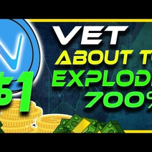 700% Gains Incoming   VET About To Explode   VET Analysis & Update   Crypto News Today