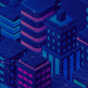 online conference to discuss the use of blockchain in real estate