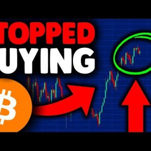 I STOPPED BUYING BITCOIN UNTIL THIS PRICE [here's why]! BITCOIN PRICE PREDICTION, BITCOIN NEWS TODAY