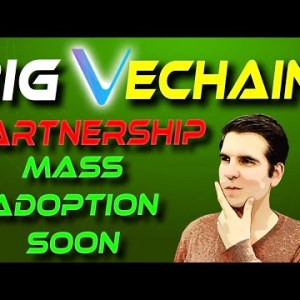 VeChain Mass Adoption | This Could Be A Game Changer | Cheeky Crypto
