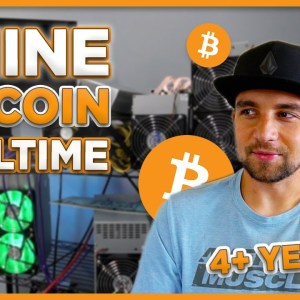 What it's like MINING BITCOIN full-time for 4+ years