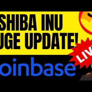 MASSIVE SHIBA INU COIN UPDATE - COINBASE PRO LISTING LIVE TODAY! HUGE FOR SHIB HOLDERS!