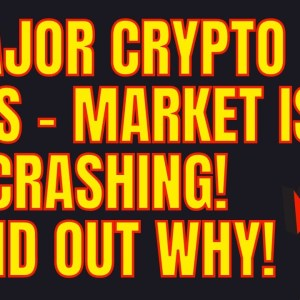 MAJOR CRYPTO NEWS TODAY - MARKET IS CRASHING! FIND OUT WHY! BITCOIN NEWS! ETHEREUM NEWS!