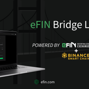 efin all set to launch its efin bridge on sep 6 2021