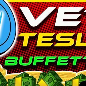 HUGE VECHAIN NEWS! Tesla Rumour | VET Batteries? | Why VET Will Hit $1 | Crypto News Today