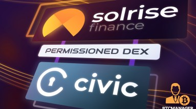 solrise finance and civic technologies launch first permissioned dex on solana