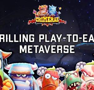 chimeras play to earn metaverse raised over 2m during successful funding round