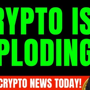 CRYPTO IS EXPLODING! ALTCOINS ARE PUMPING HARD! HUGE CRYPTO NEWS TODAY!