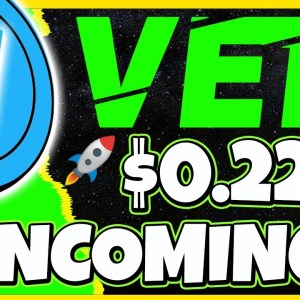 VeChain Targets $0.22 After Another Pull Back | VET ANALYSIS & UPDATE | CRYPTO NEWS TODAY