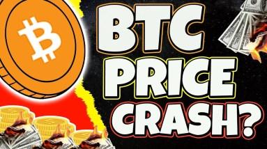 BITCOIN CRASH? WILL BTC DROP BACK TO LESS THAN $30,000? BTC ANALYSIS & UPDATE