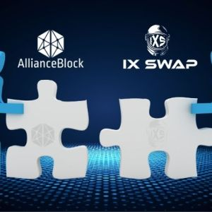 ix swap uses the products of allianceblock
