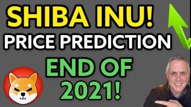 MAJOR SHIBA INU PRICE PREDICTION! SHIBA INU COIN PREDICTION END OF 2021!