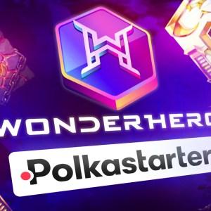 polkastarter labs the startup incubator of polkastarter pols unveils wonderhero as first project