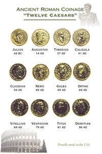 12 caesars gold