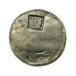 New England Shilling 6 pence