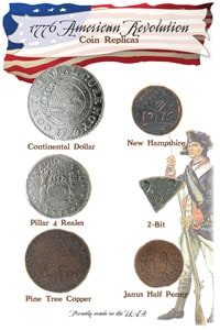 American Revolution Coin Set 1776