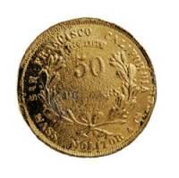wass-molitar $50 gold 1852