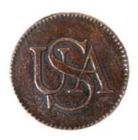 Bar Copper NY coin