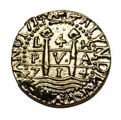 Gold Doubloon 4 escudos
