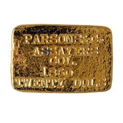 Parson & Co. Assay ingot 1860