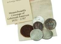 Massachusetts educational coin set