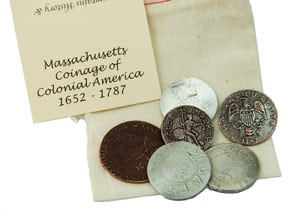 Massachusetts educational coin set