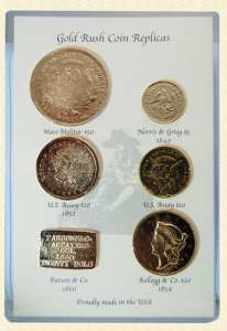 Gold rush coin set