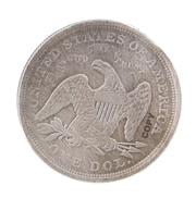 Seated liberty 1871