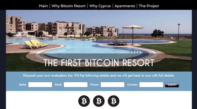 Screenshot Website First Bitcoin Ressort