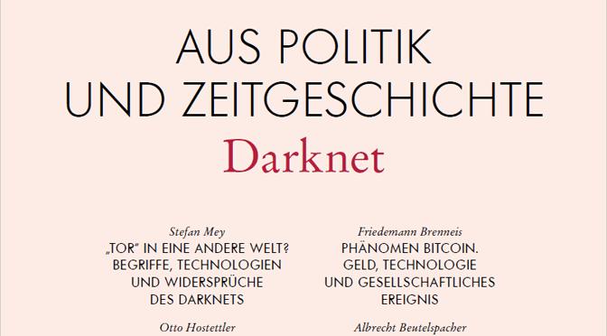 Ab heute: Bitcoin & das Darknet im Parlament