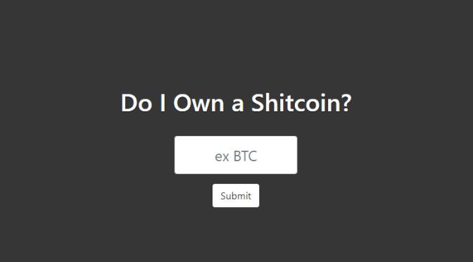 Der Shitcoin-Detektor