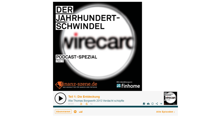 Podcast-Tipp – Der Wirecard-Skandal