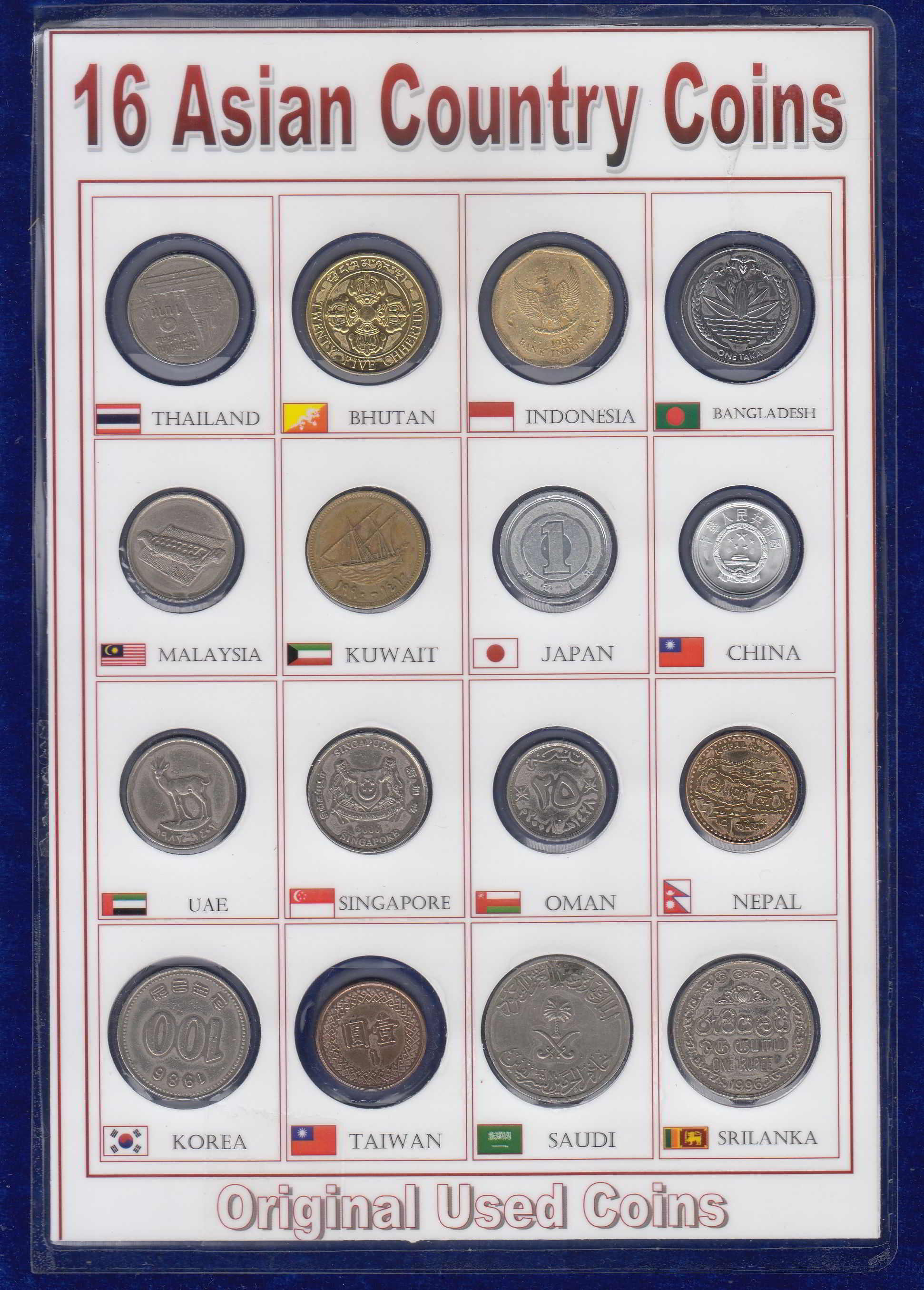 Europe Coins 16 Different Countries