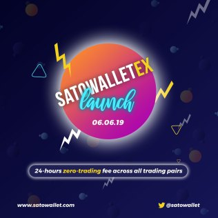 SatoWallet Launches Its Web Exchange, SatoWalletEx