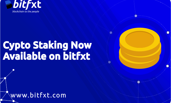 Bitfxt Exchange Adds Staking Options On Its Platform