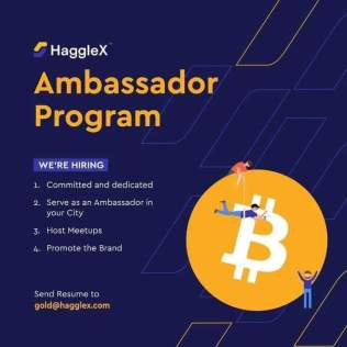 Join the HaggleX Ambassador Program